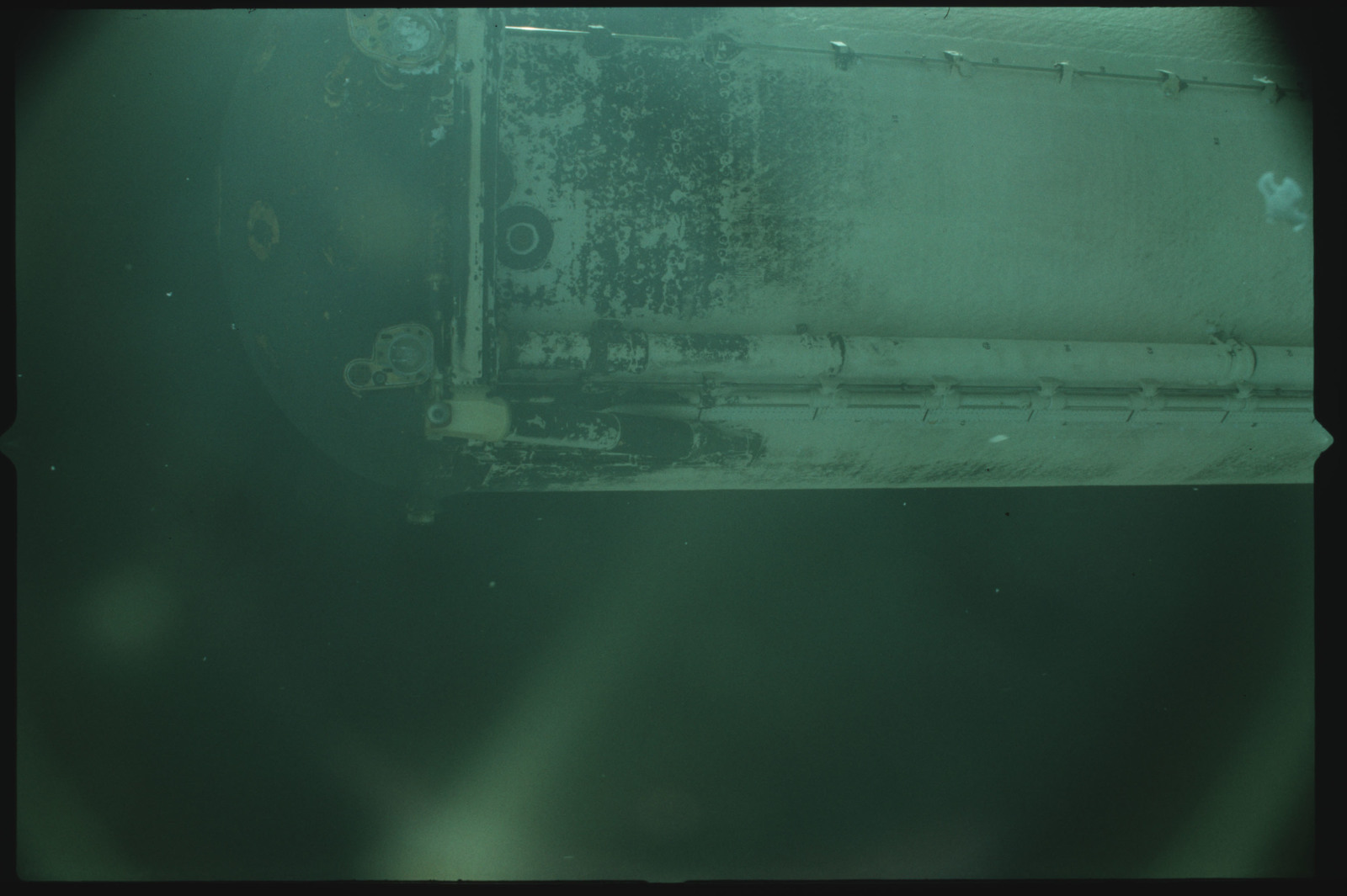 S02-500-932 - STS-002 - View of the External Tank after separation from Columbia during the STS-2 mission