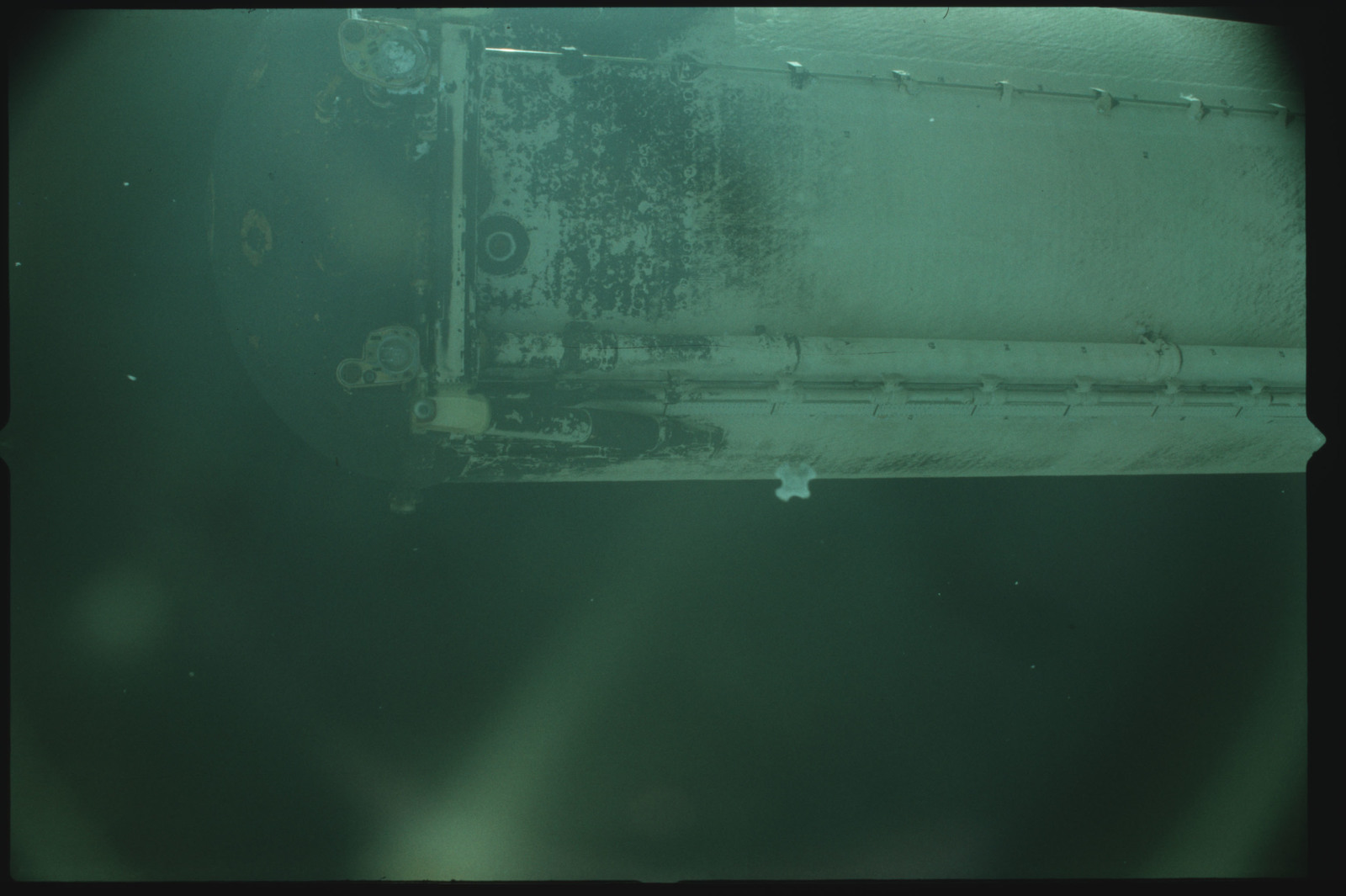 S02-500-935 - STS-002 - View of the External Tank after separation from Columbia during the STS-2 mission