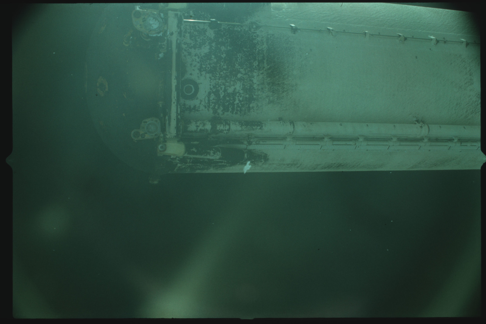 S02-500-936 - STS-002 - View of the External Tank after separation from Columbia during the STS-2 mission
