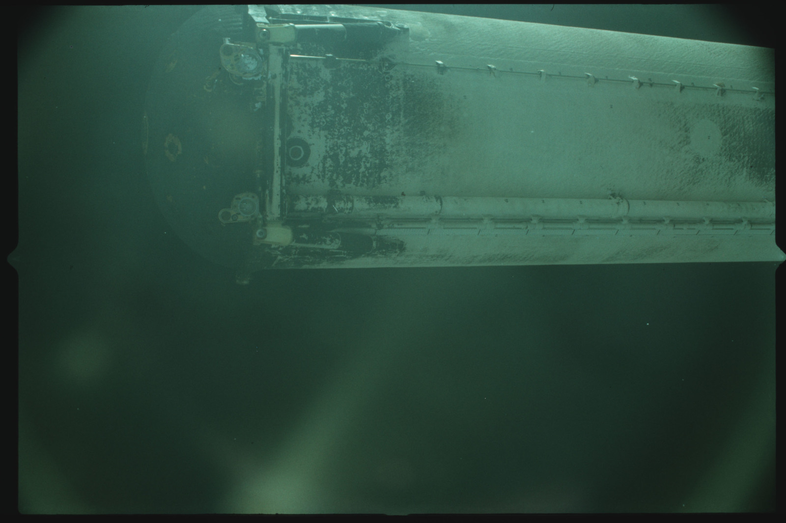 S02-500-943 - STS-002 - View of the External Tank after separation from Columbia during the STS-2 mission