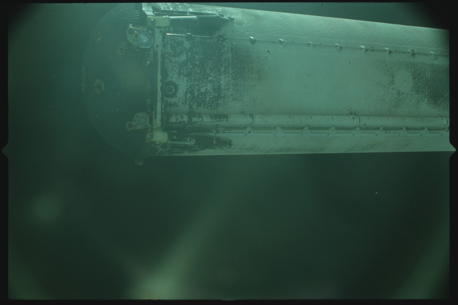 S02-500-944 - STS-002 - View of the External Tank after separation from Columbia during the STS-2 mission