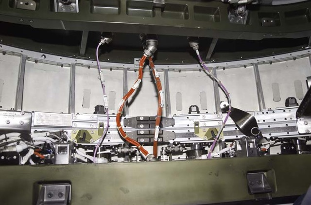 S104E5100 - STS-104 - Electrical wiring and connections from Quest airlock to Node 1