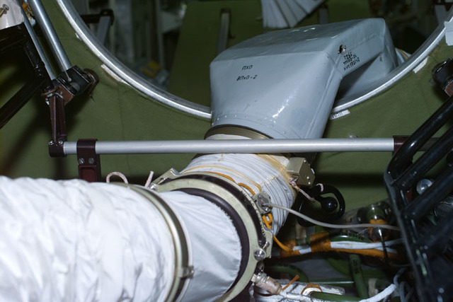 S106E5137 - STS-106 - Air ventilation duct on Zvezda taken during STS-106