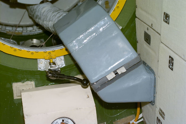 S106E5143 - STS-106 - Air ventilation ducts on Zvezda taken during STS-106