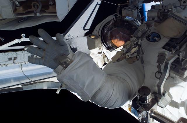 S115E05844 - STS-115 - Burbank prepares the SARJ on the P3 - P4 Truss Segment