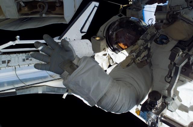 S115E05845 - STS-115 - Burbank prepares the SARJ on the P3 - P4 Truss Segment