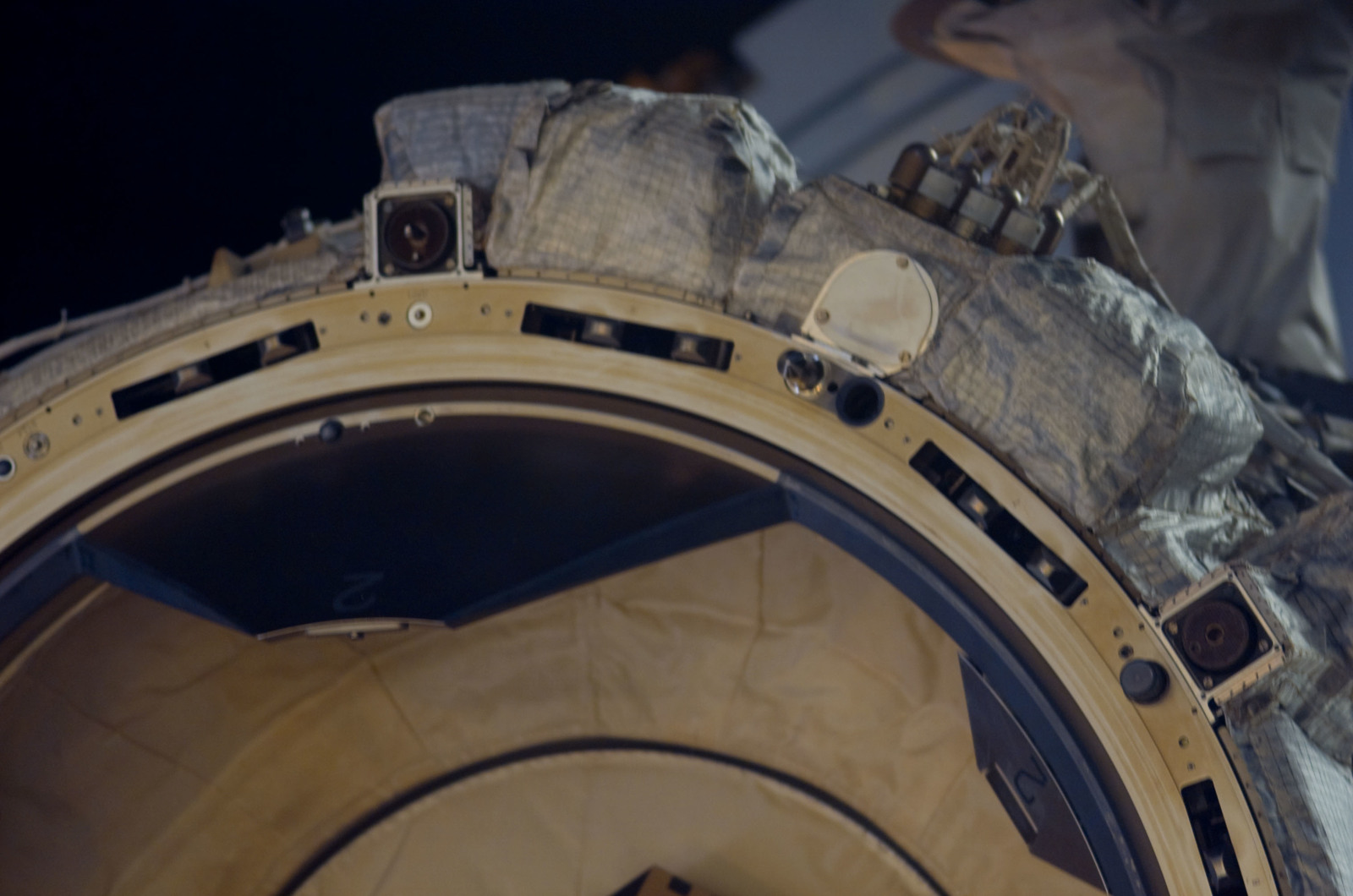 S116E07490 - STS-116 - View of the PMA 2 taken after departure of STS-116 Space Shuttle Discovery