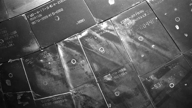 S117E08526 - STS-117 - Survey view of STS-117 Space Shuttle Atlantis