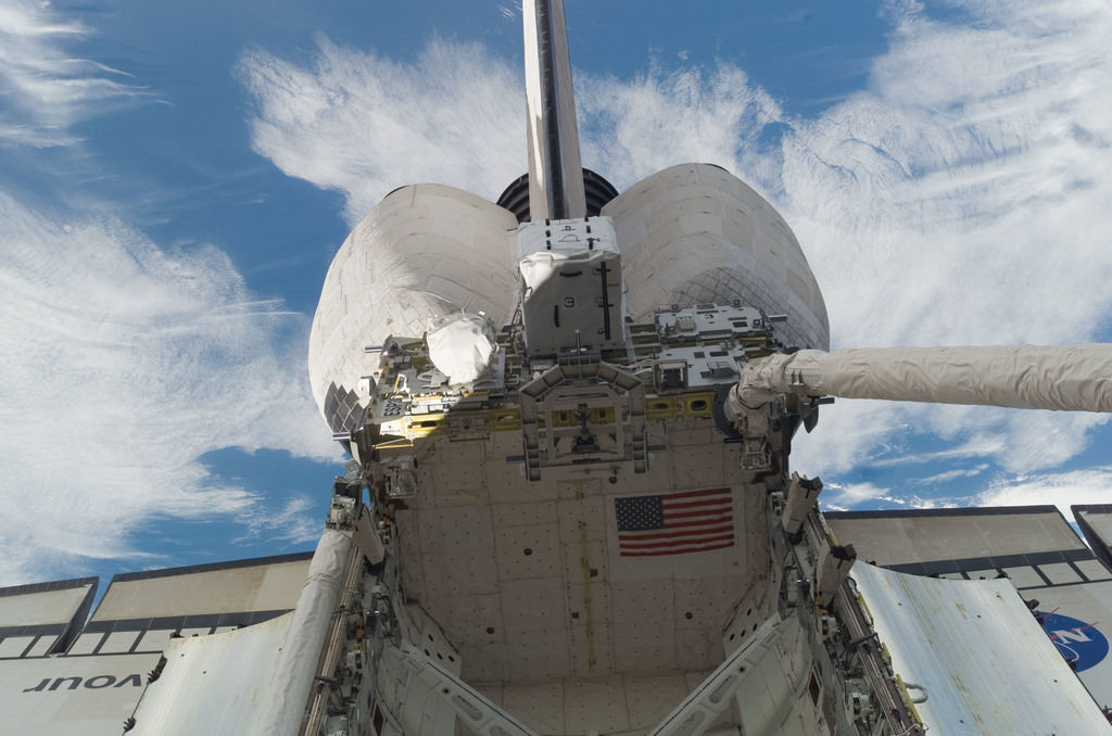 S118E07103 - STS-118 - View of ESP 3 in the Payload Bay of the Endeavour during STS-118