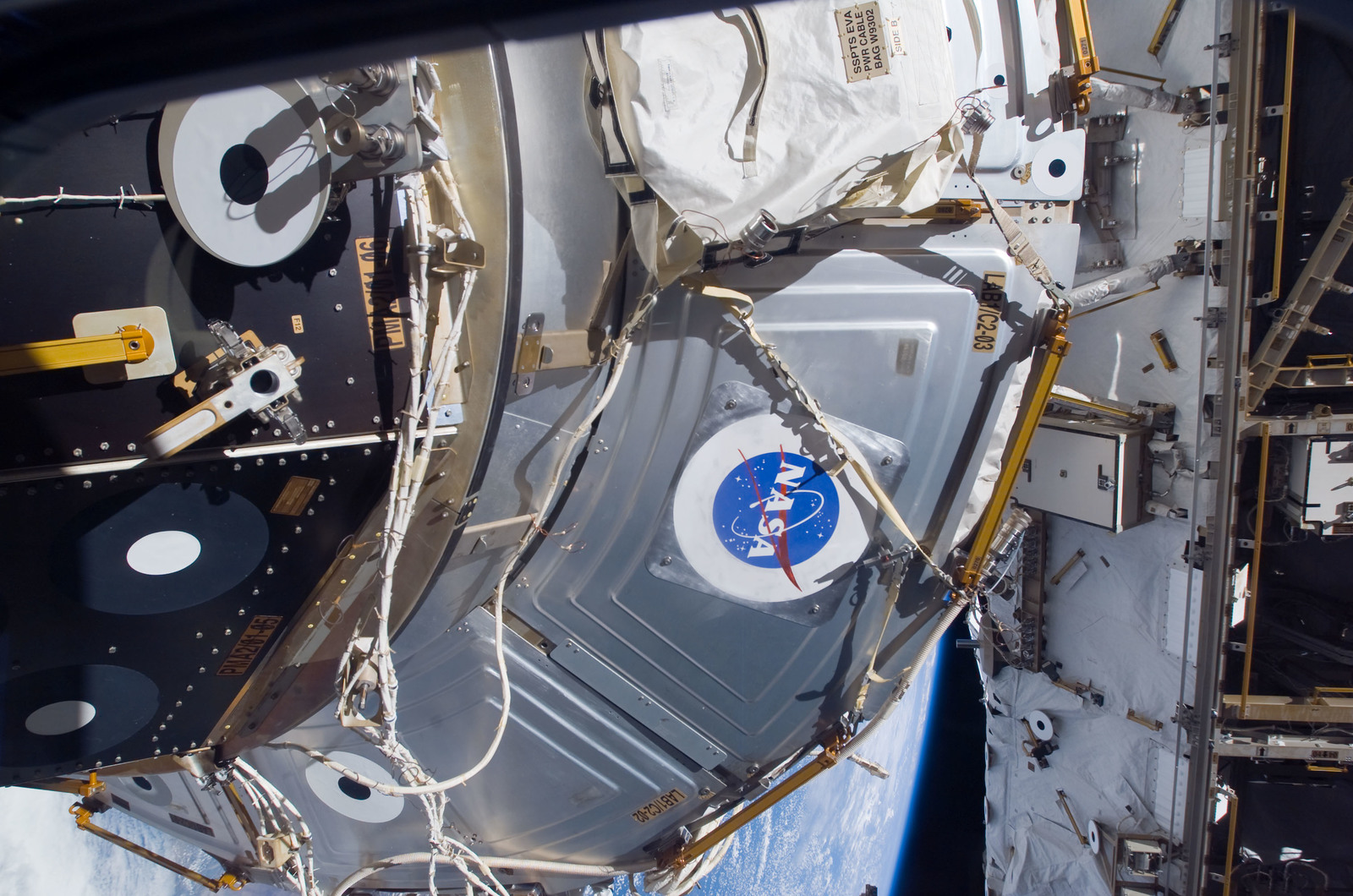 S118E07532 - STS-118 - Exterior view of the ISS taken during STS-118