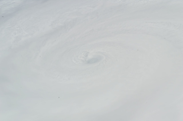 S118E07920 - STS-118 - View of Hurricane Dean taken by the STS-118 Crew