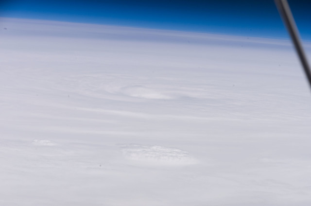 S118E09217 - STS-118 - View of Hurricane Dean taken by the STS-118 Crew
