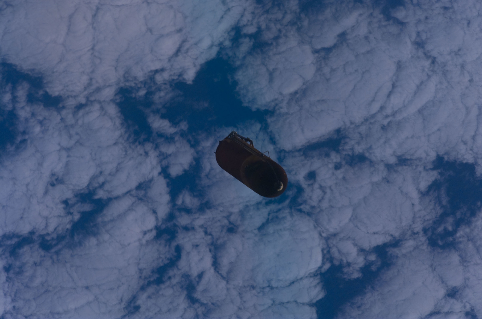S120E005040 - STS-120 - External Tank after separation from Discovery during the STS-120 Mission
