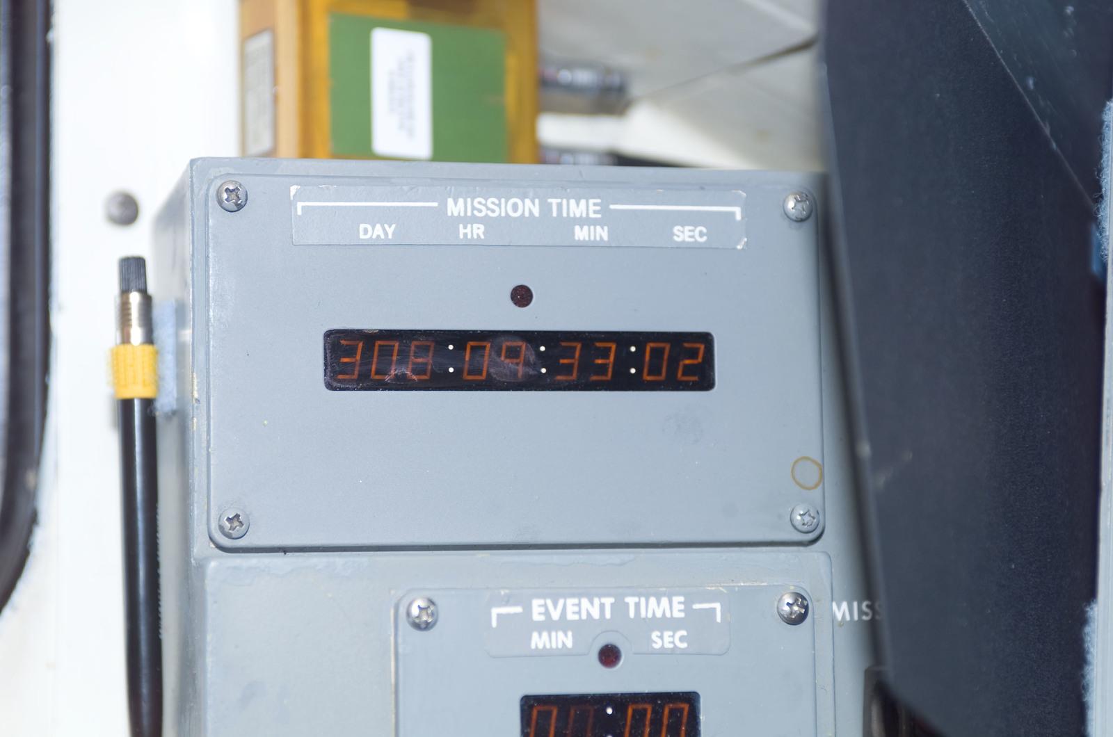 S120E008327 - STS-120 - Clock on flight deck