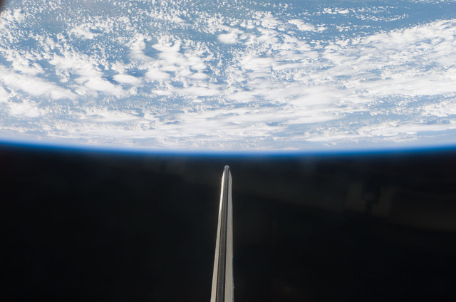 S121E08326 - STS-121 - Earth limb view taken during STS-121.
