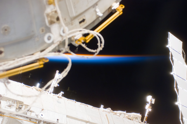 S122E007667 - STS-122 - Node 2 during Expedition 16/STS-122 Joint Operations