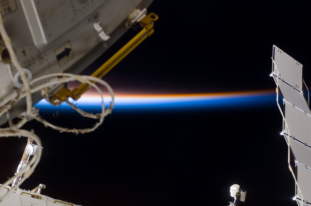 S122E007669 - STS-122 - Node 2 during Expedition 16/STS-122 Joint Operations
