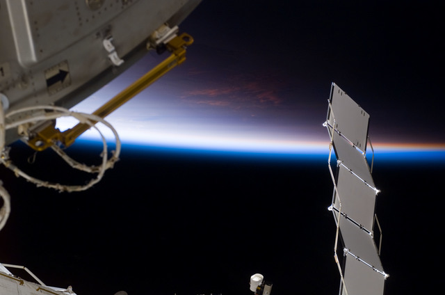 S122E007675 - STS-122 - Node 2 during Expedition 16/STS-122 Joint Operations