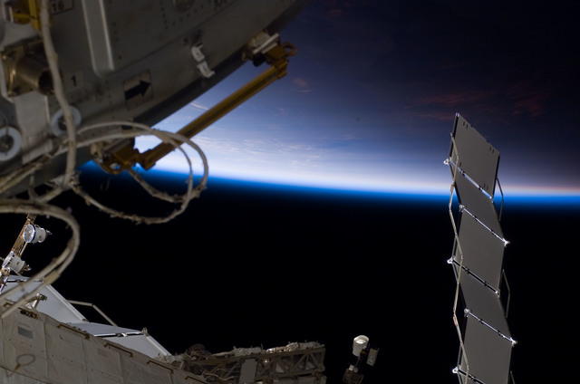 S122E007676 - STS-122 - Node 2 during Expedition 16/STS-122 Joint Operations