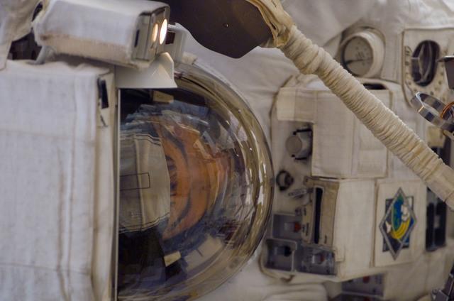 S122E007806 - STS-122 - Walheim during EVA 1