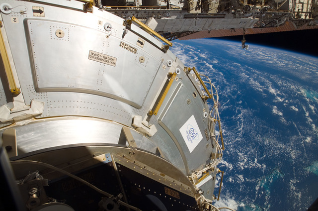 S122E007940 - STS-122 - Node 2 during Expedition 16/STS-122 Joint Operations