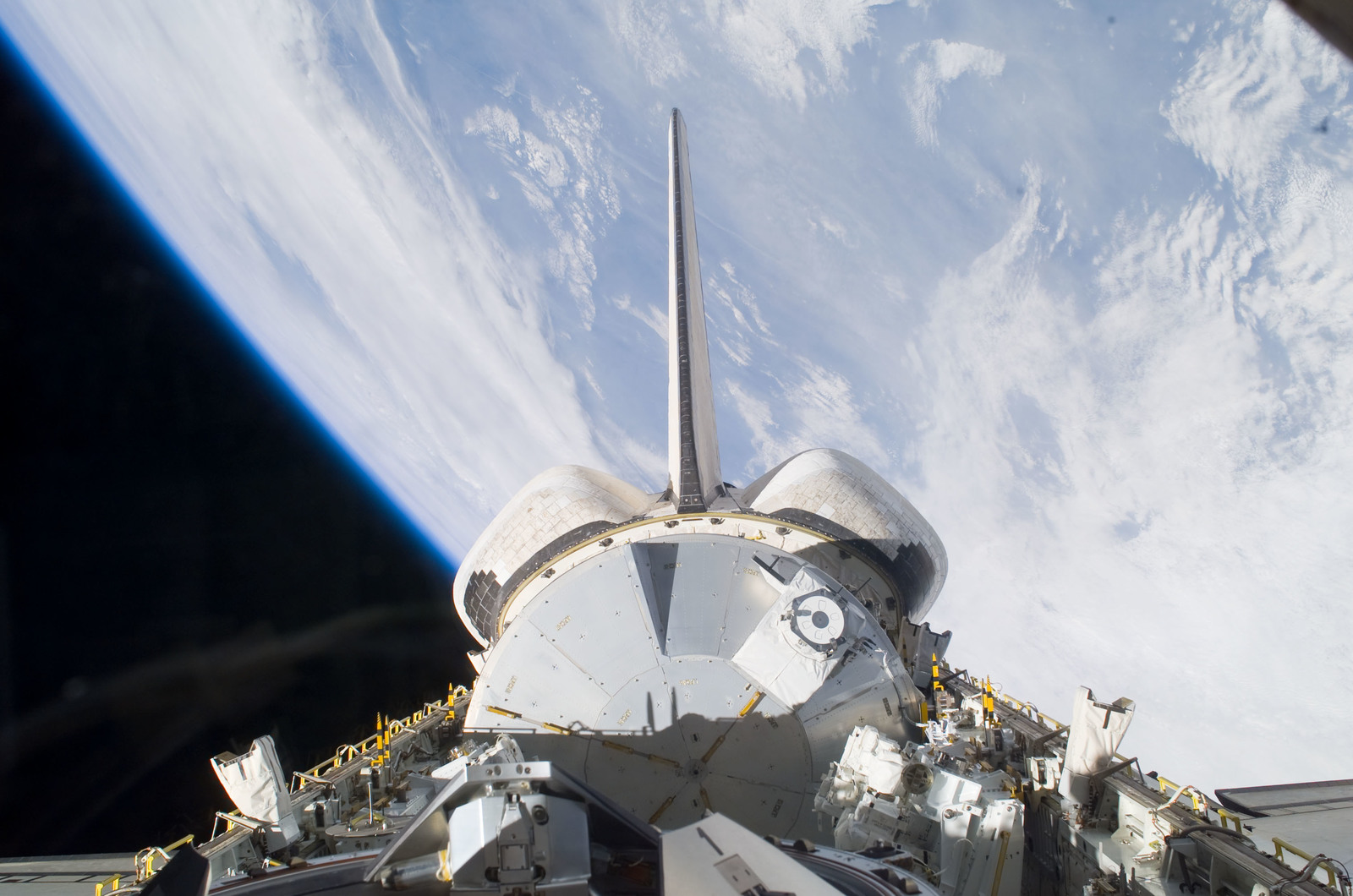 S123E005640 - STS-123 - Space Shuttle Endeavour,OV 105,Payload Bay during STS-123