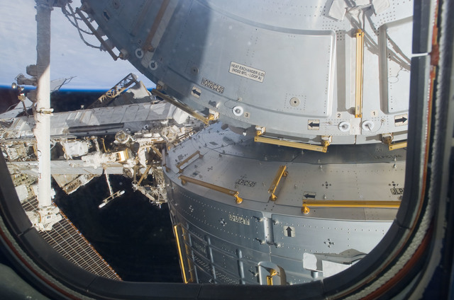 S123E007278 - STS-123 - JLP installed on the Node 2 during Joint Operations