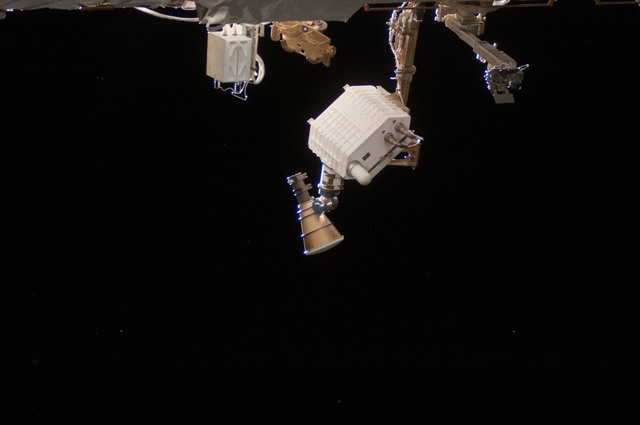 S124E008043 - STS-124 - View of lighting taken by the STS-124 crew.