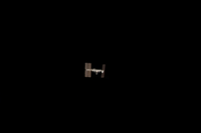 S124E010808 - STS-124 - Distant view of the ISS