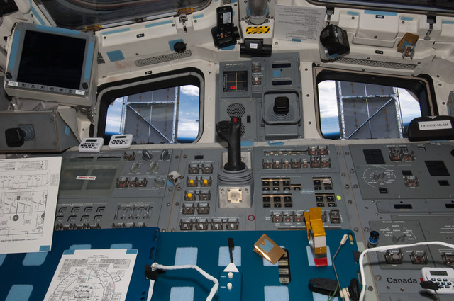 S125E007769 - STS-125 - View of the Aft FD taken during Flight Day 5