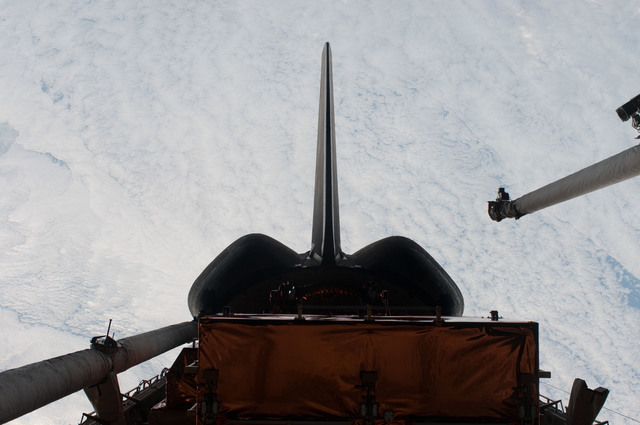 S125E011881 - STS-125 - View of the Shuttle Atlantis' Payload Bay