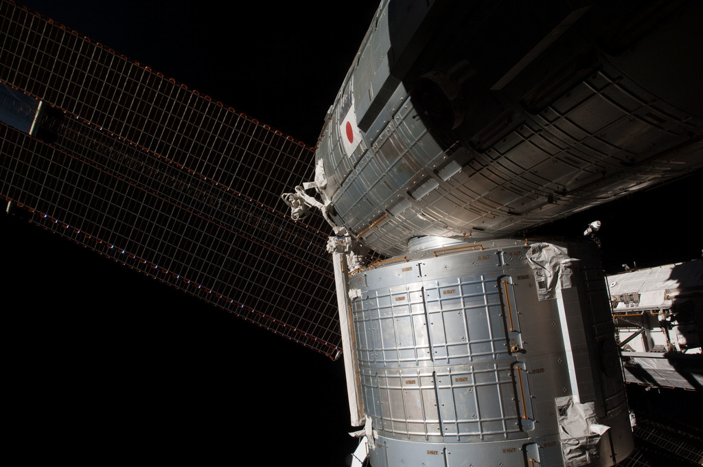 S126E009709 - STS-126 - Time Lapse Photography of Kibo and Port Truss