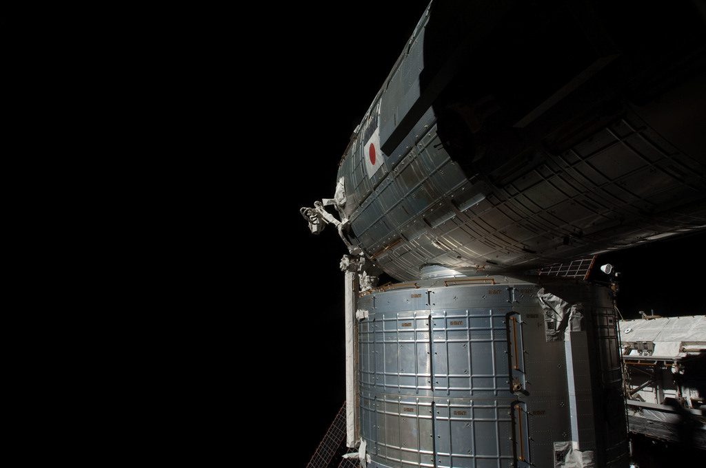 S126E010365 - STS-126 - Time Lapse Photography of Kibo and Port Truss
