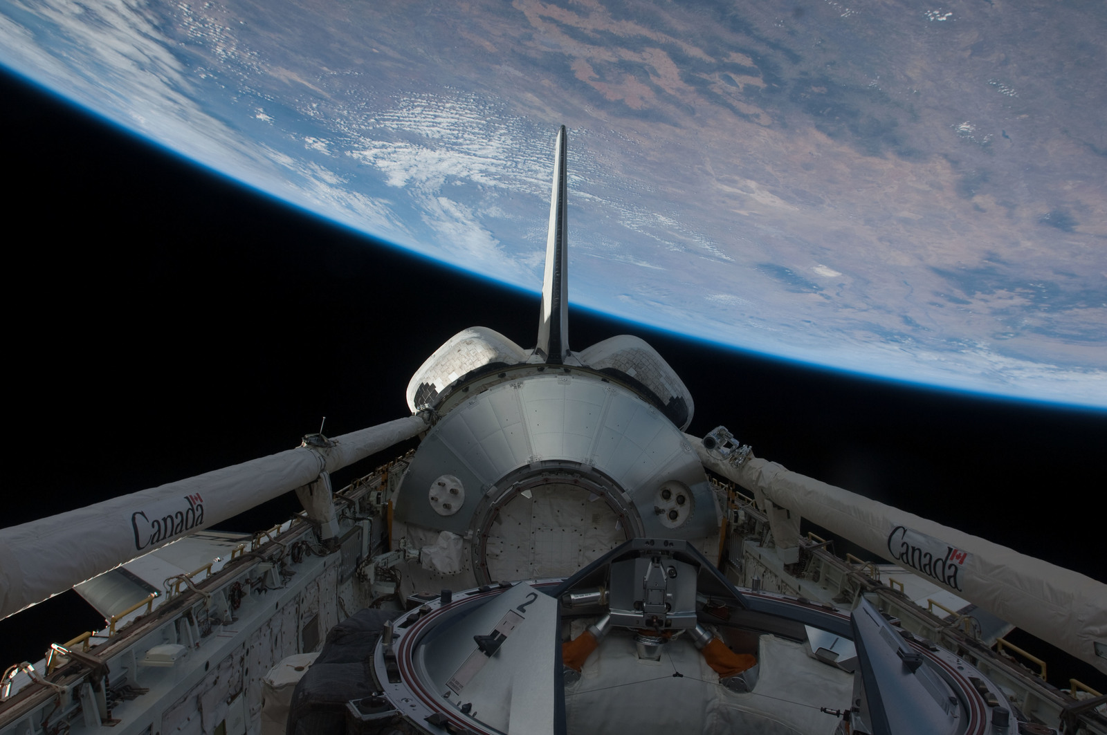 S126E026982 - STS-126 - Payload Bay of Endeavour