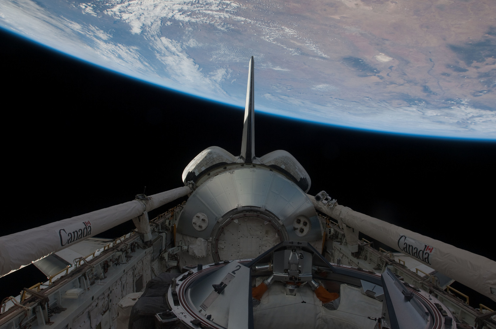 S126E026984 - STS-126 - Payload Bay of Endeavour