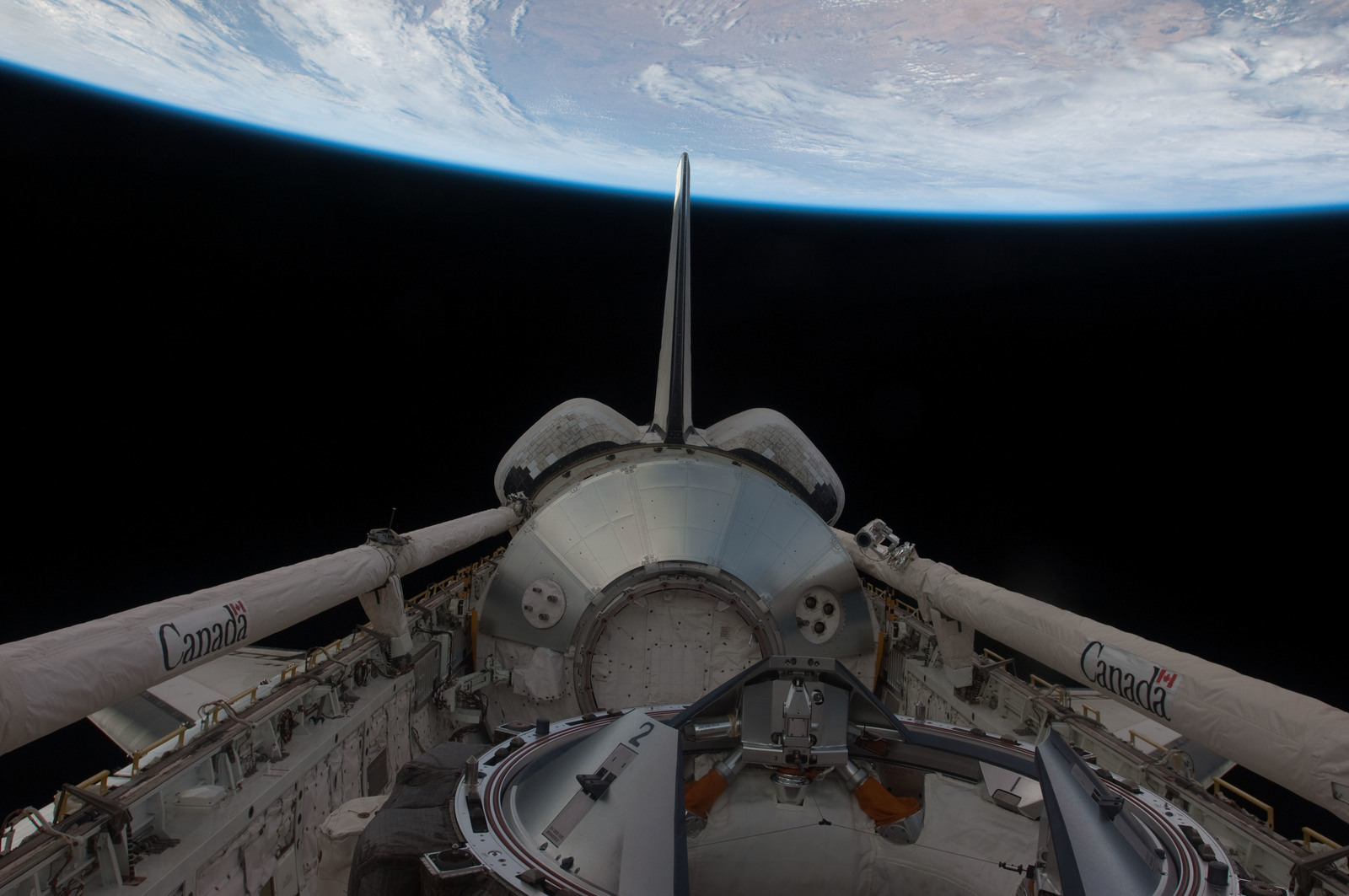 S126E026987 - STS-126 - Payload Bay of Endeavour