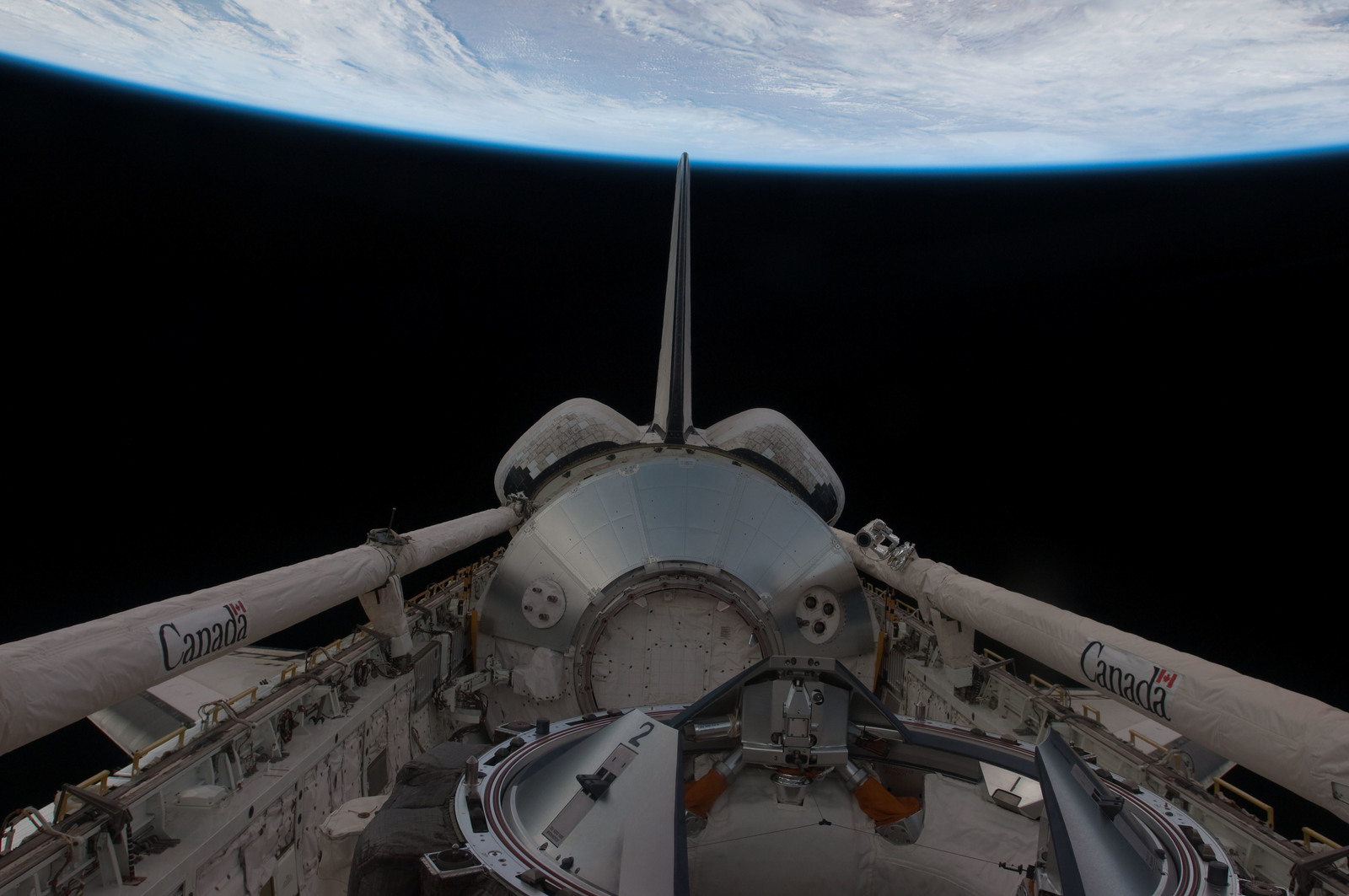 S126E026988 - STS-126 - Payload Bay of Endeavour