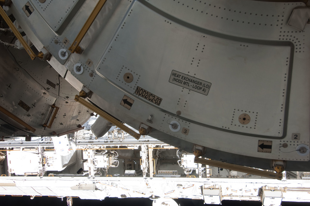 S127E007910 - STS-127 - Node 2 and Trusses during EVA-3
