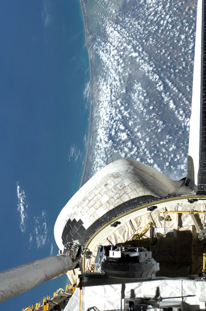 S127E012300 - STS-127 - Payload Bay on Space Shuttle Endeavour containing DRAGONSAT
