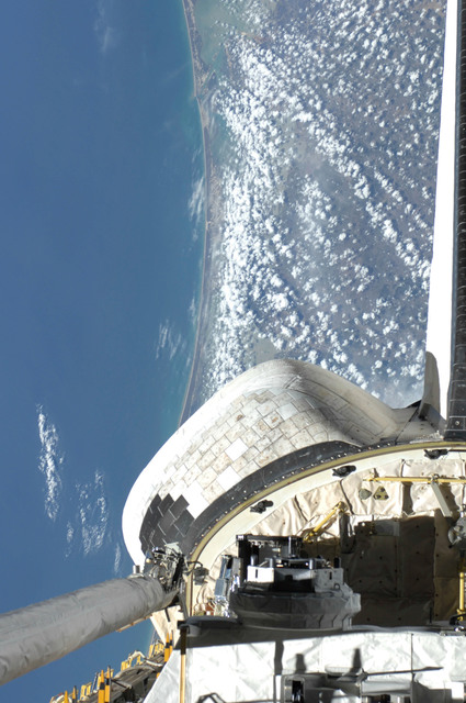 S127E012301 - STS-127 - Deployment of DRAGONSAT from Space Shuttle Endeavours Payload Bay