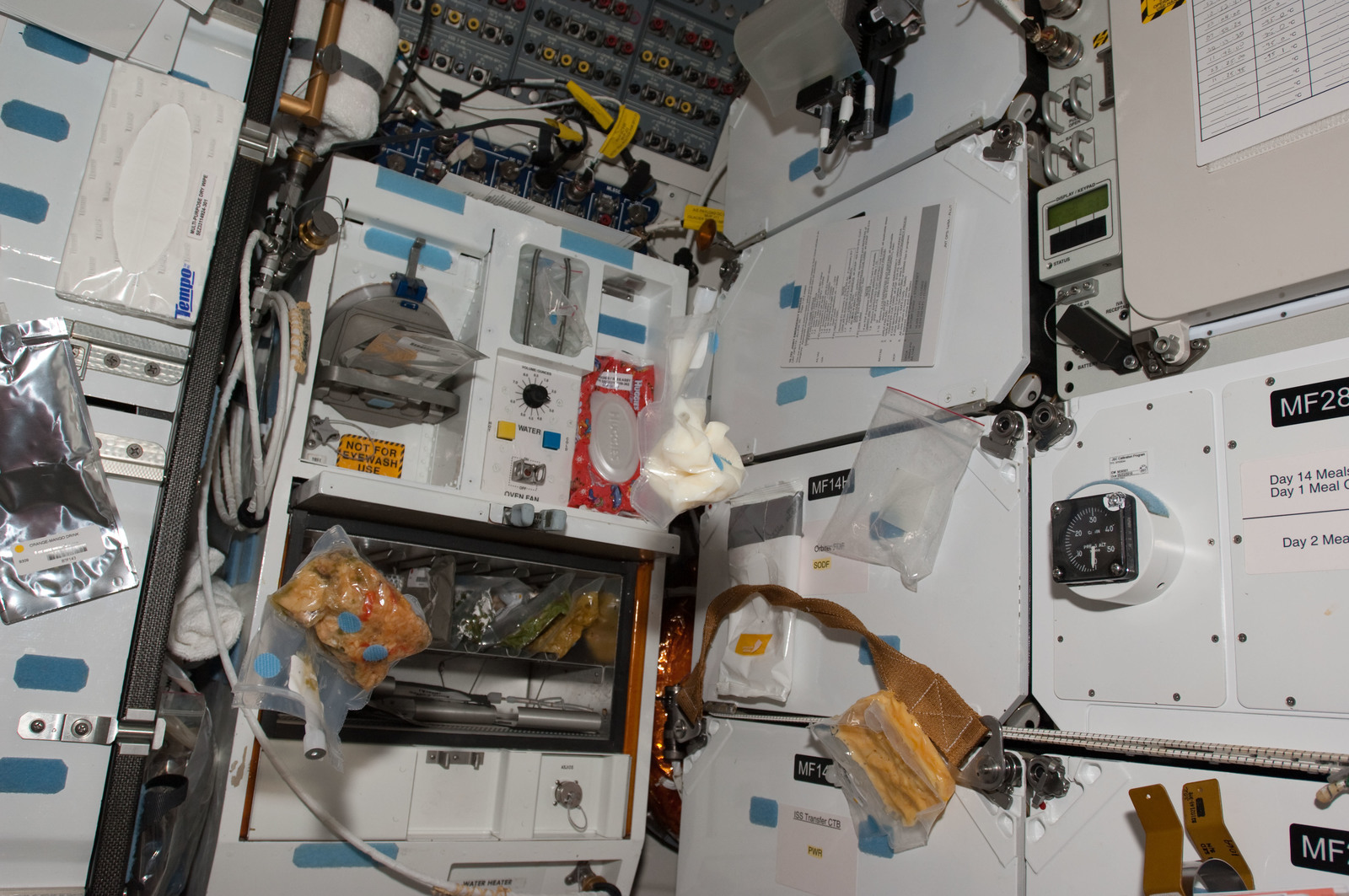S130E008453 - STS-130 - Galley on MDDK
