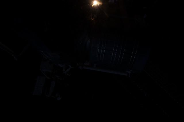 S130E008468 - STS-130 - Dark View of Kibo