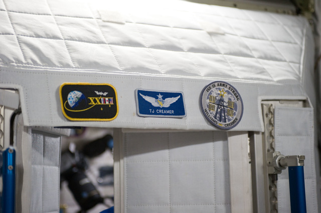 S131E007818 - STS-131 - Creamer's Sleep Station in Node 2 Harmony