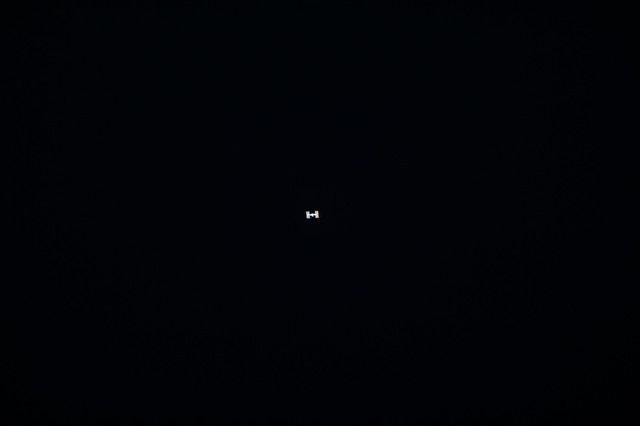 S132E012561 - STS-132 - ISS after departure of STS-132 Space Shuttle Atlantis