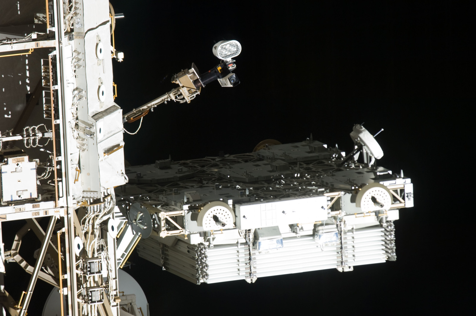 s133E010725 - STS-133 - Fly around of ISS