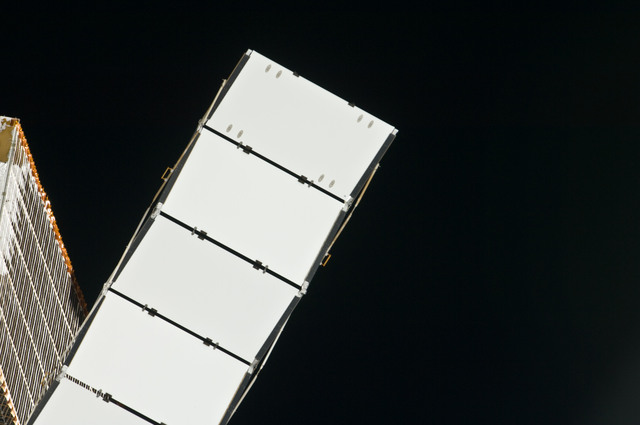 S134E006724 - STS-134 - Exterior view of ISS taken during STS-134 Approach