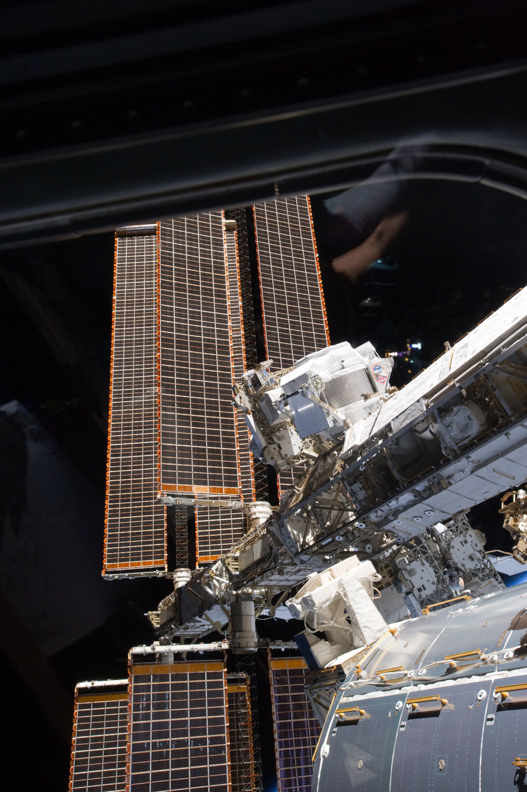 S134E007530 - STS-134 - View of the AMS-2 mounted on the S3 Truss
