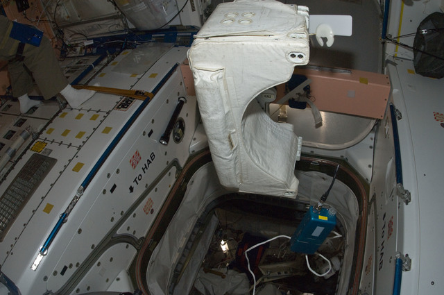 S134E009213 - STS-134 - View of IVA Battery Unit