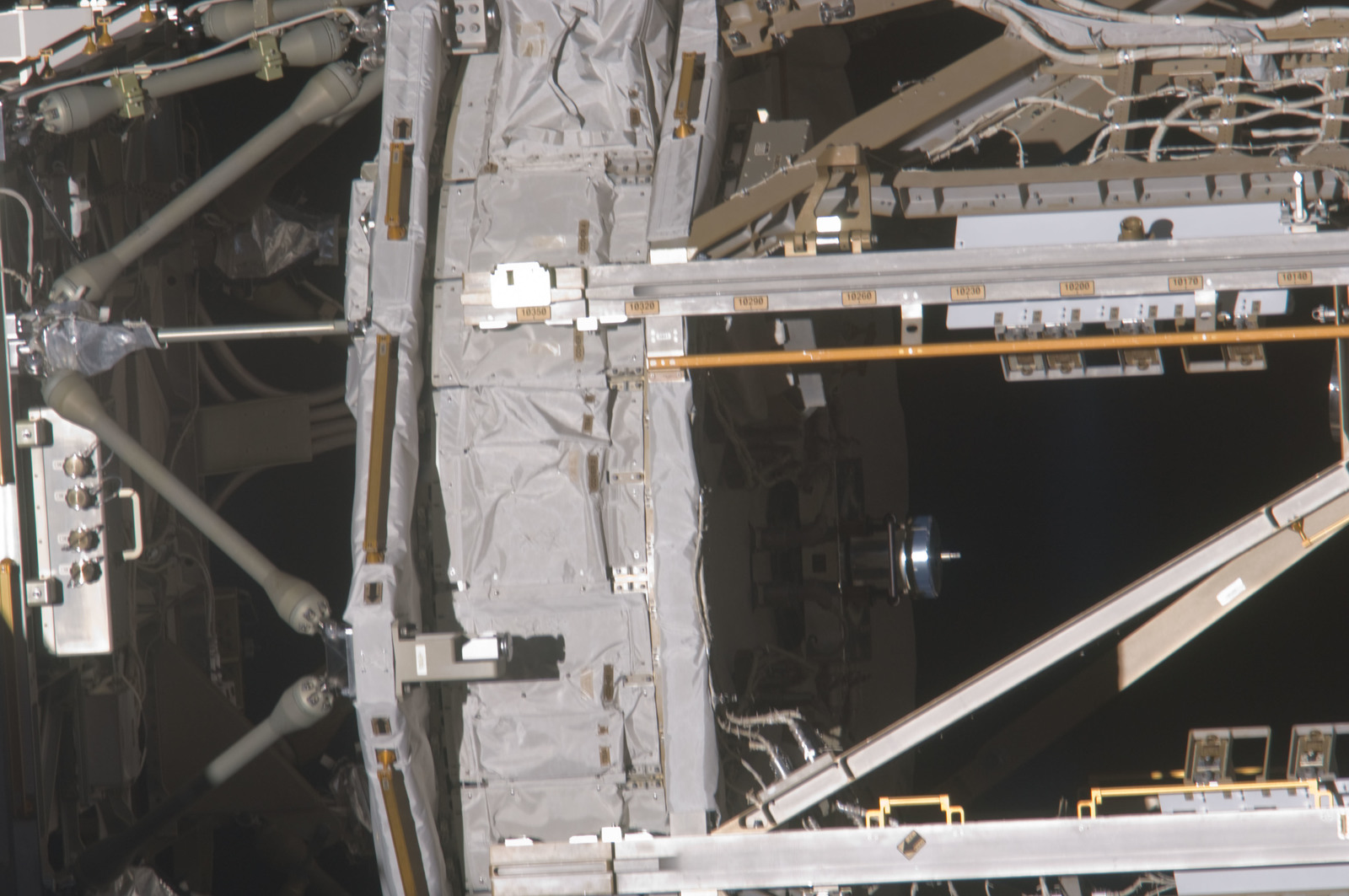 S134E010556 - STS-134 - View of ISS taken during STS-134 Undocking and Flyaround