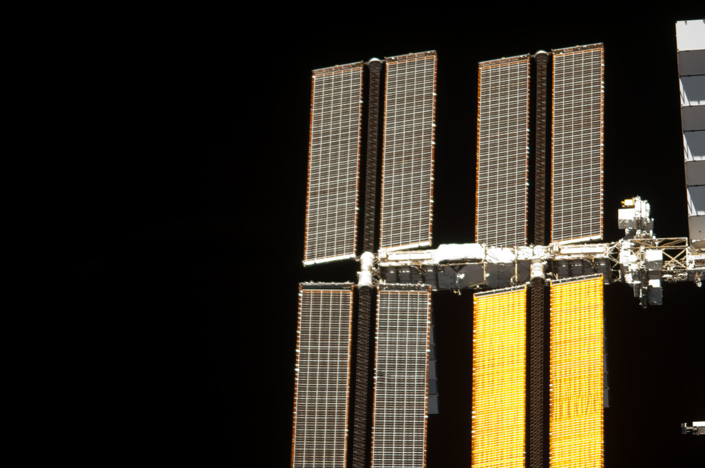 S134E011611 - STS-134 - View of ISS taken from the Shuttle Endeavour